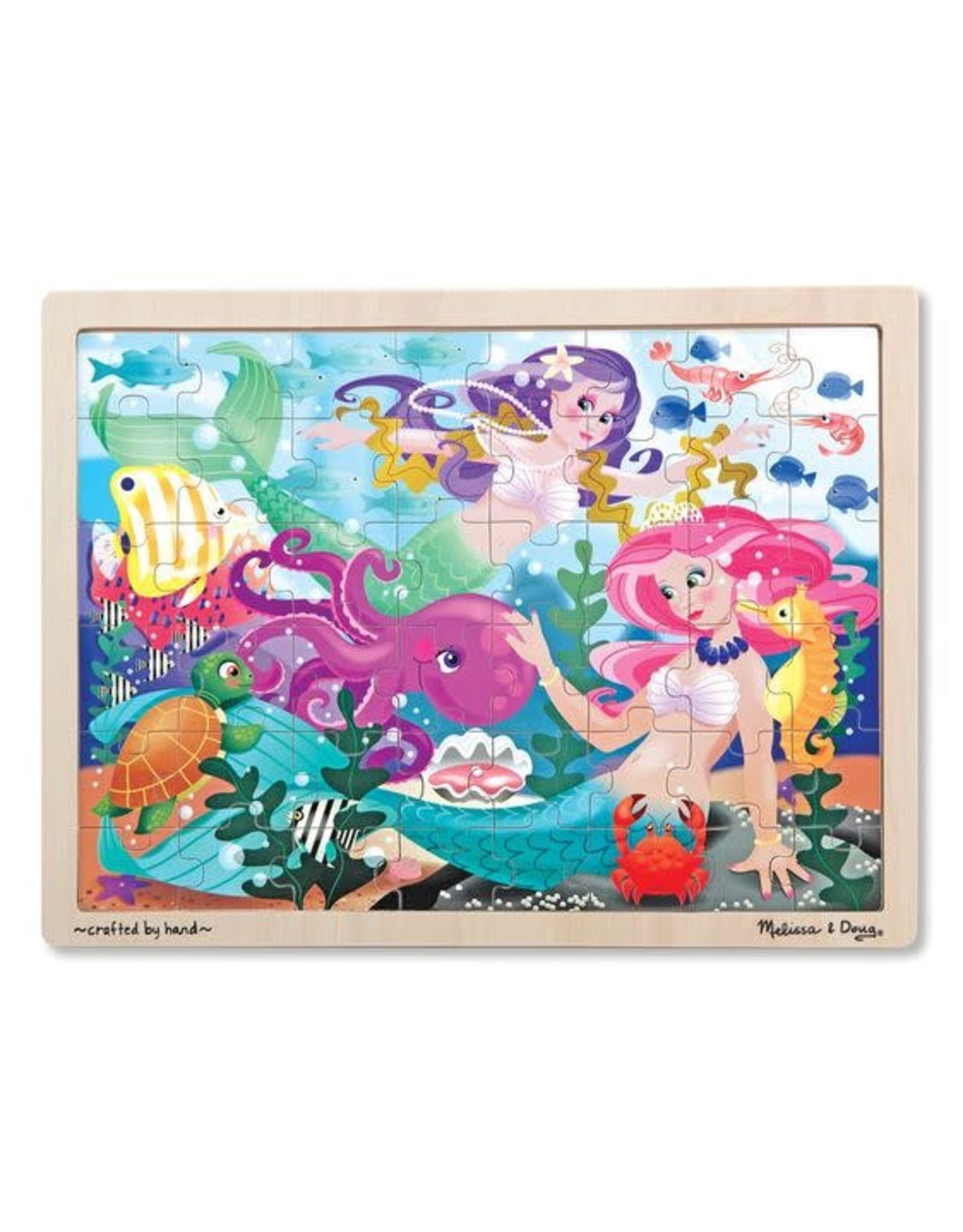 Mermaid Fantasea Wooden Jigsaw