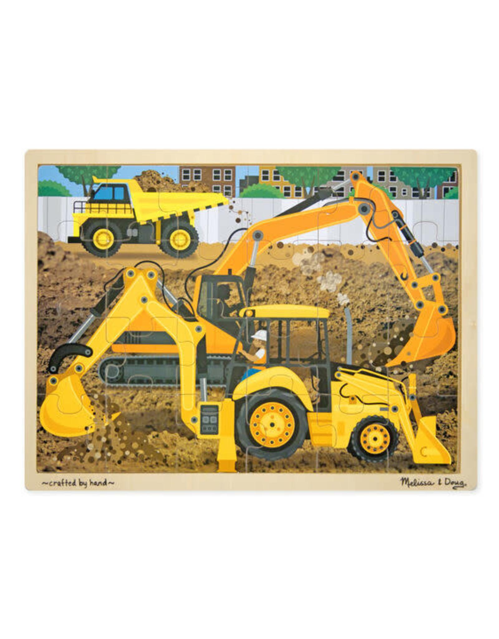 Construction Jigsaw 24pc