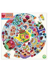 Tea Party 500pc Round Puzzle