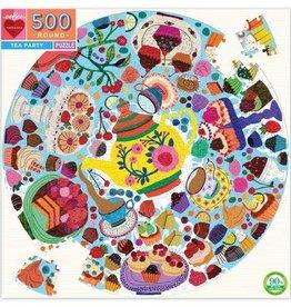 Tea Party 500pc Round Puzzle