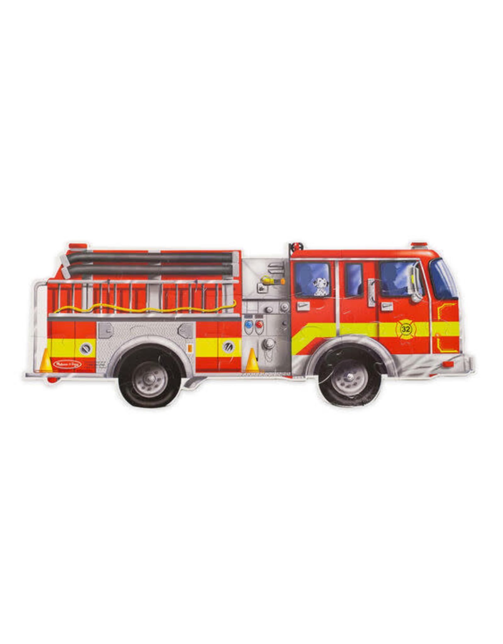Giant Fire Truck Floor (24 pc)