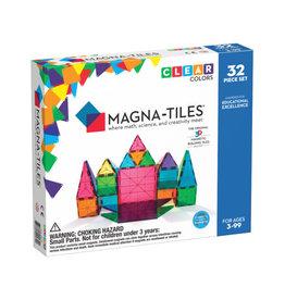 MagnaTiles Clear Colors 32 pc