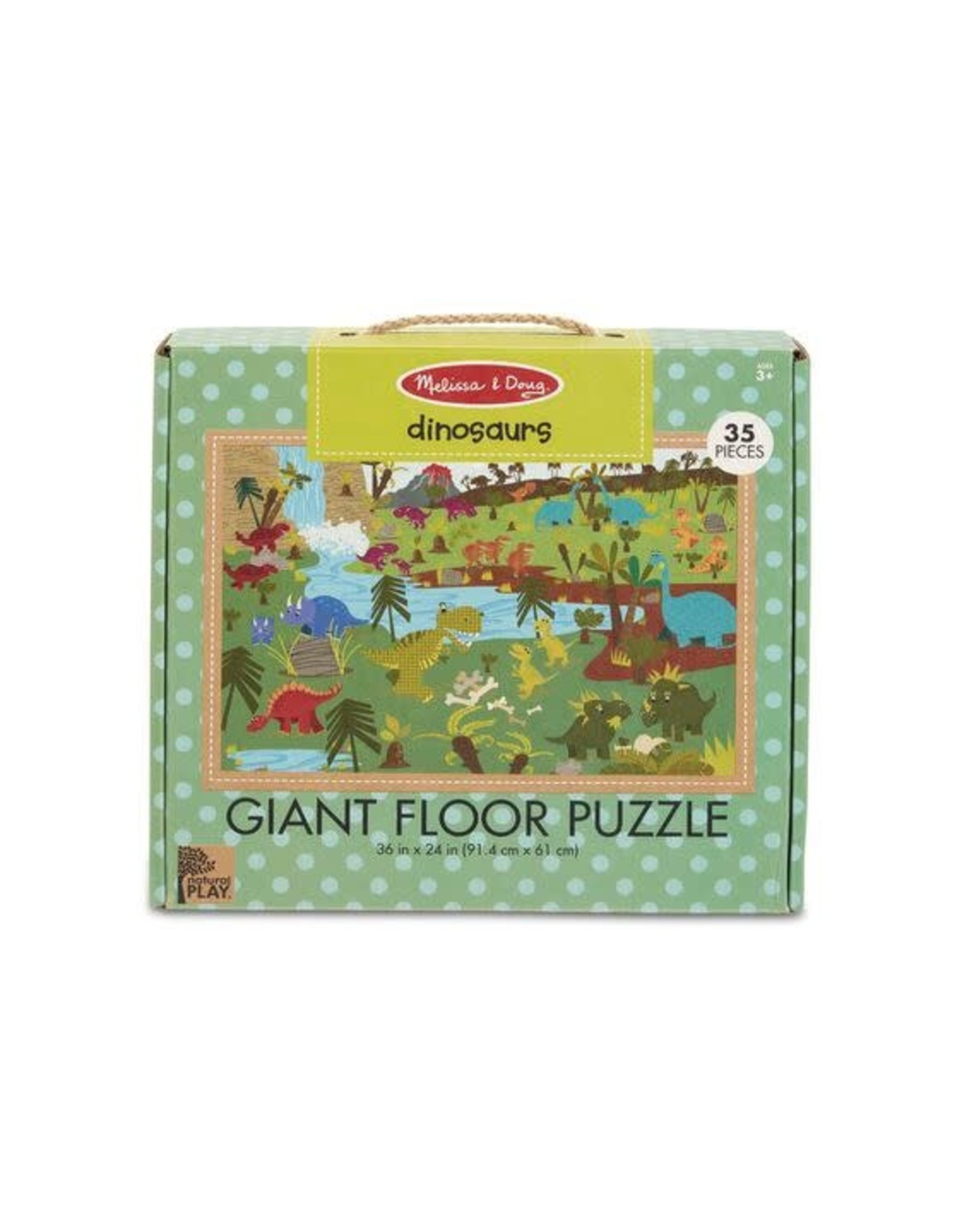 NP Giant Floor Puzzle - Dinosaurs