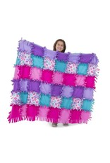 Melissa & Doug Created by Me - Flower Fleece Quilt