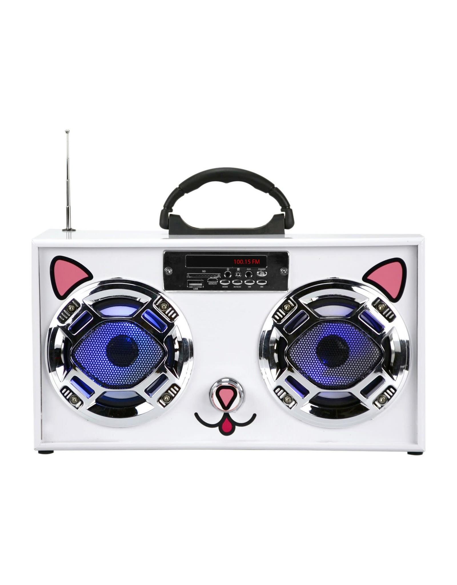 Mini Boom Box Cat