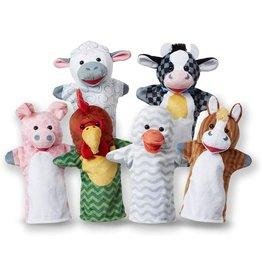 Barn Buddies Hand Puppets (6 Pc)