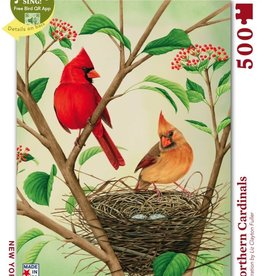 Northern Cardinals 500 pc puzzle
