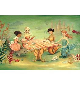 Mermaid Tea Party 60 pc puzzle