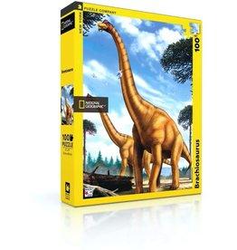 Brontosaurus 100 piece puzzle