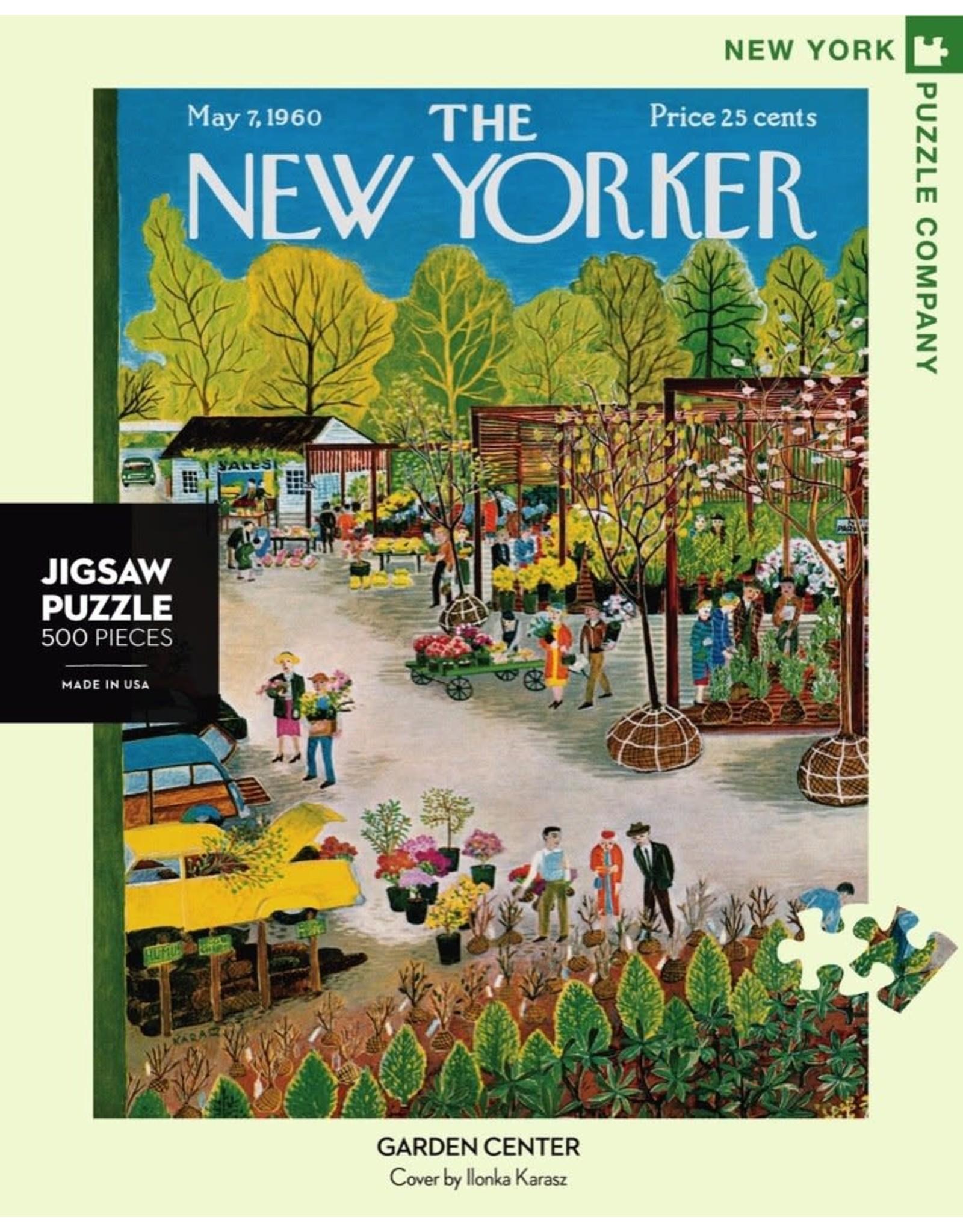 Garden Center 500 piece puzzle