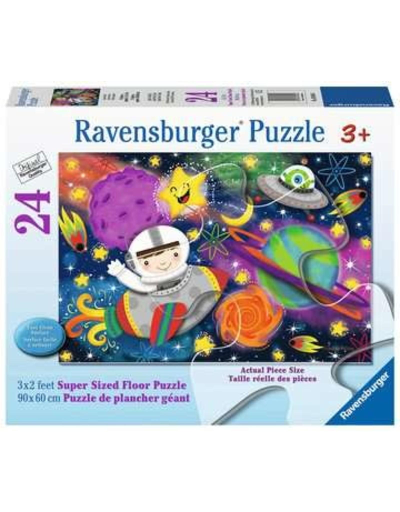 Space Rocket 24 piece floor puzzle