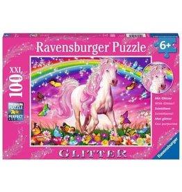 Horse Dream Glitter 100 piece Puzzle