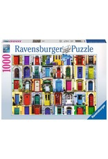 Doors of the World Puzzle 1000 piece puzzle