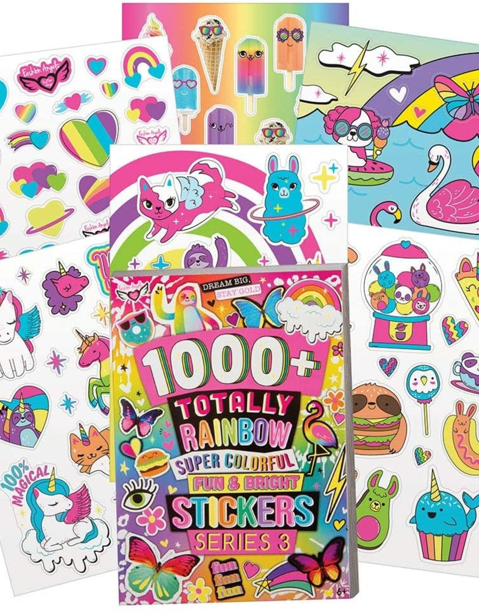 1000+ Totally Rainbow Super Colorful Stickers