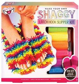 Latch Hook Slipper Kit