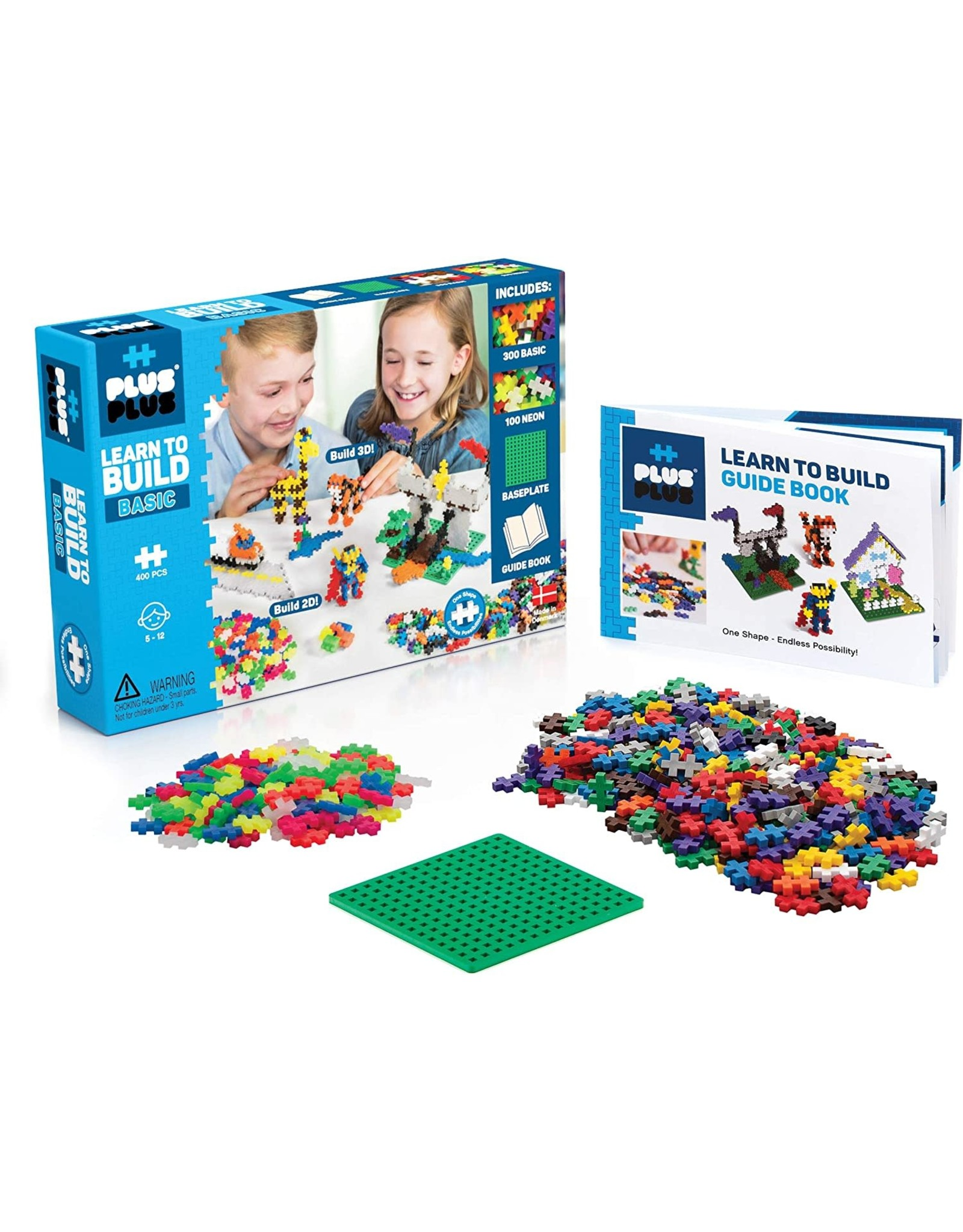 Learn to Build - Basic 400 Pc. Plus-Plus