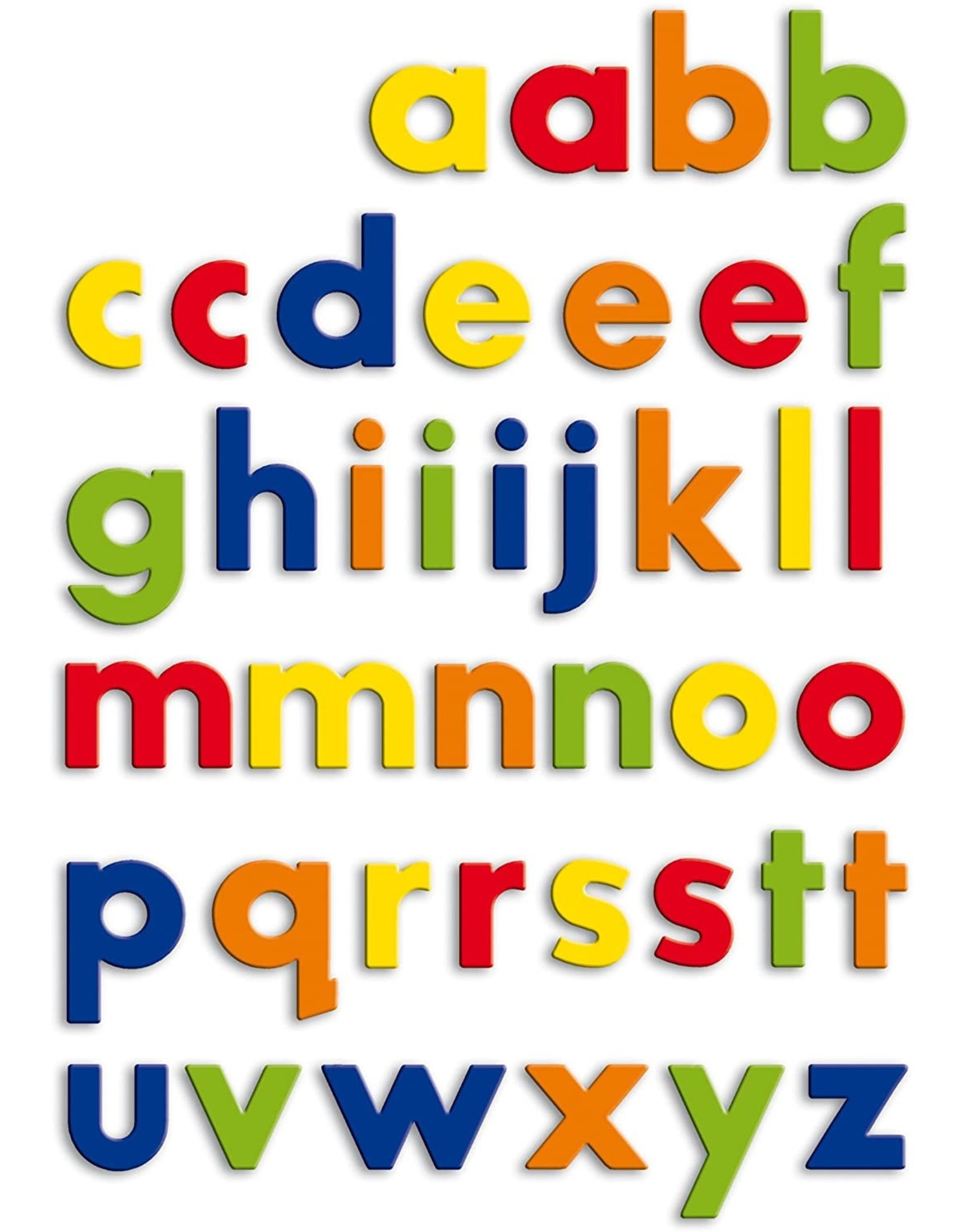 Magnetic Lowercase Letters