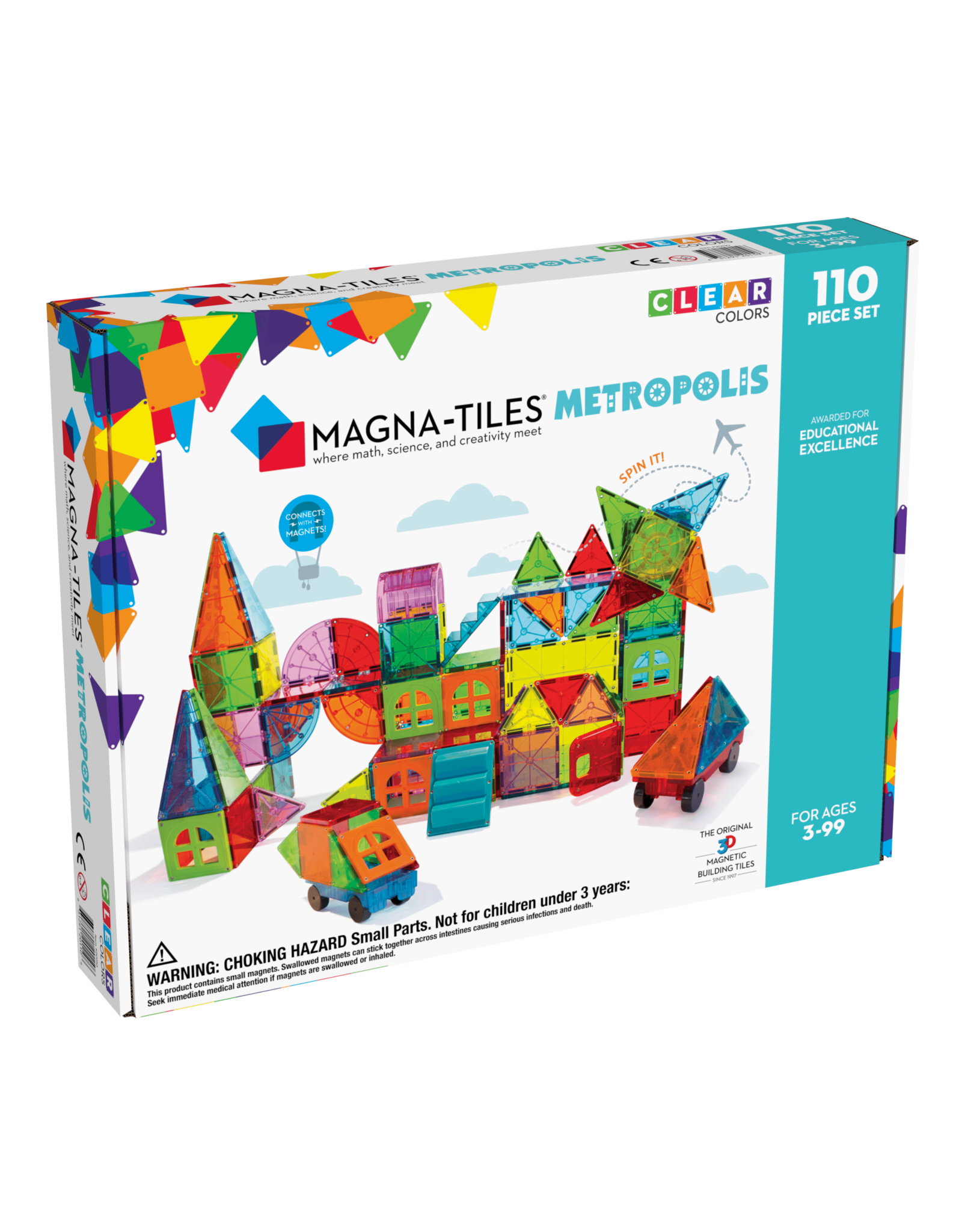 Magna-Tiles® Metropolis 110 Piece Set