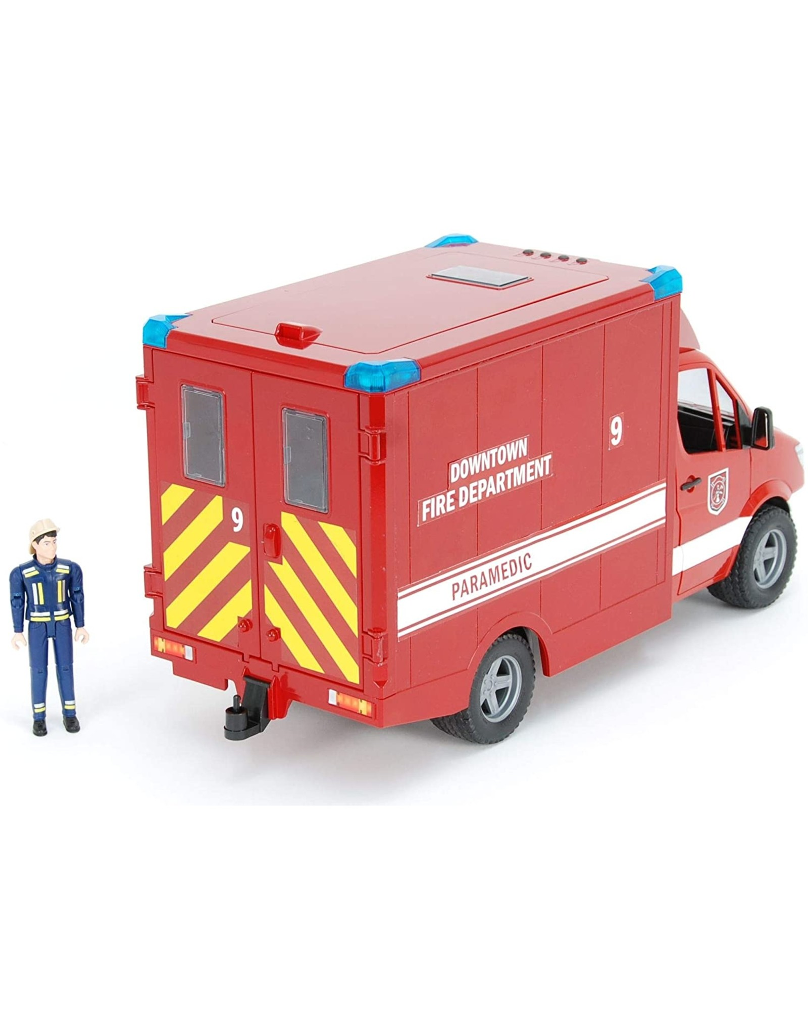 Fire Department Paramedic with Driver