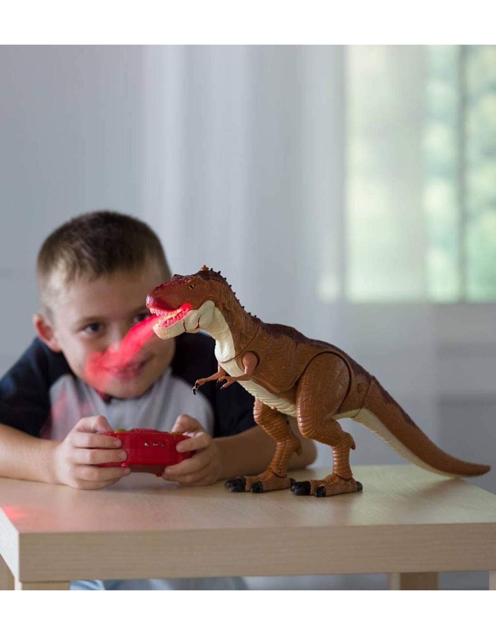 Steam-Breathing T-Rex