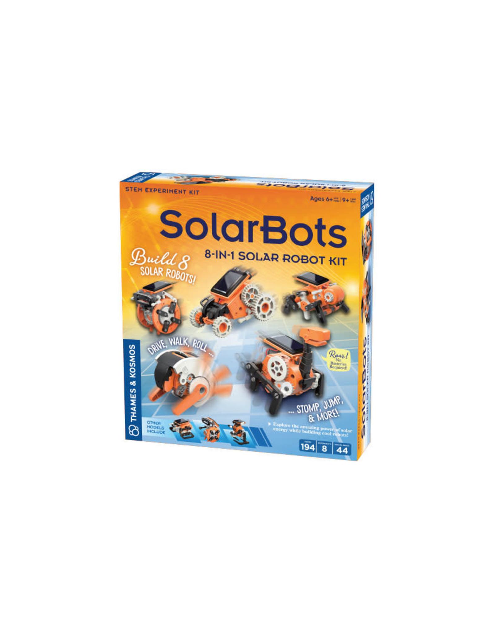SolarBots: 8-in-1 Solar Robot Kit