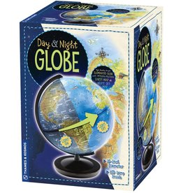Columbus Day & Night Globe