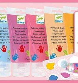 6 Tubes of Finger Paint - Sweet