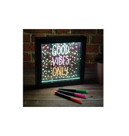 Light Up Neon Effect Message Frame