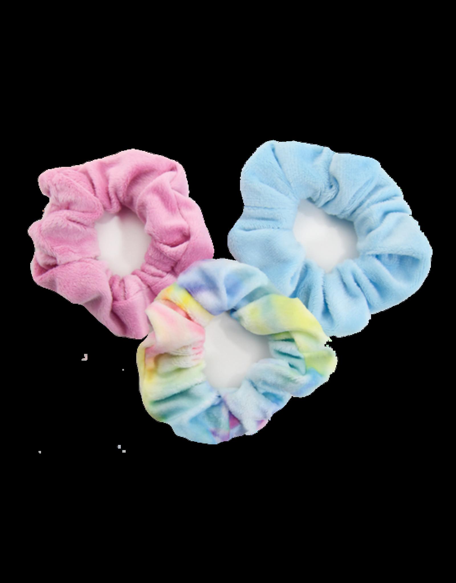 Scrunchies - Fleece Tie Dye Scrunchie Set