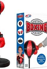 Free Standing Boxing Set  Red/Black