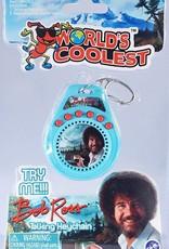 World's Coolest Bob Ross Talking Keychain