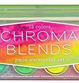 Chroma Neon Watercolor Set