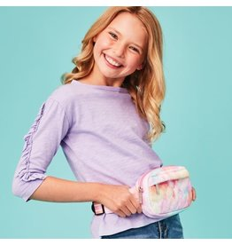 iScream Cotton Candy Heart Quilted Belt Bag