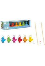 DAM LLC Fishing Ducks Rainbow