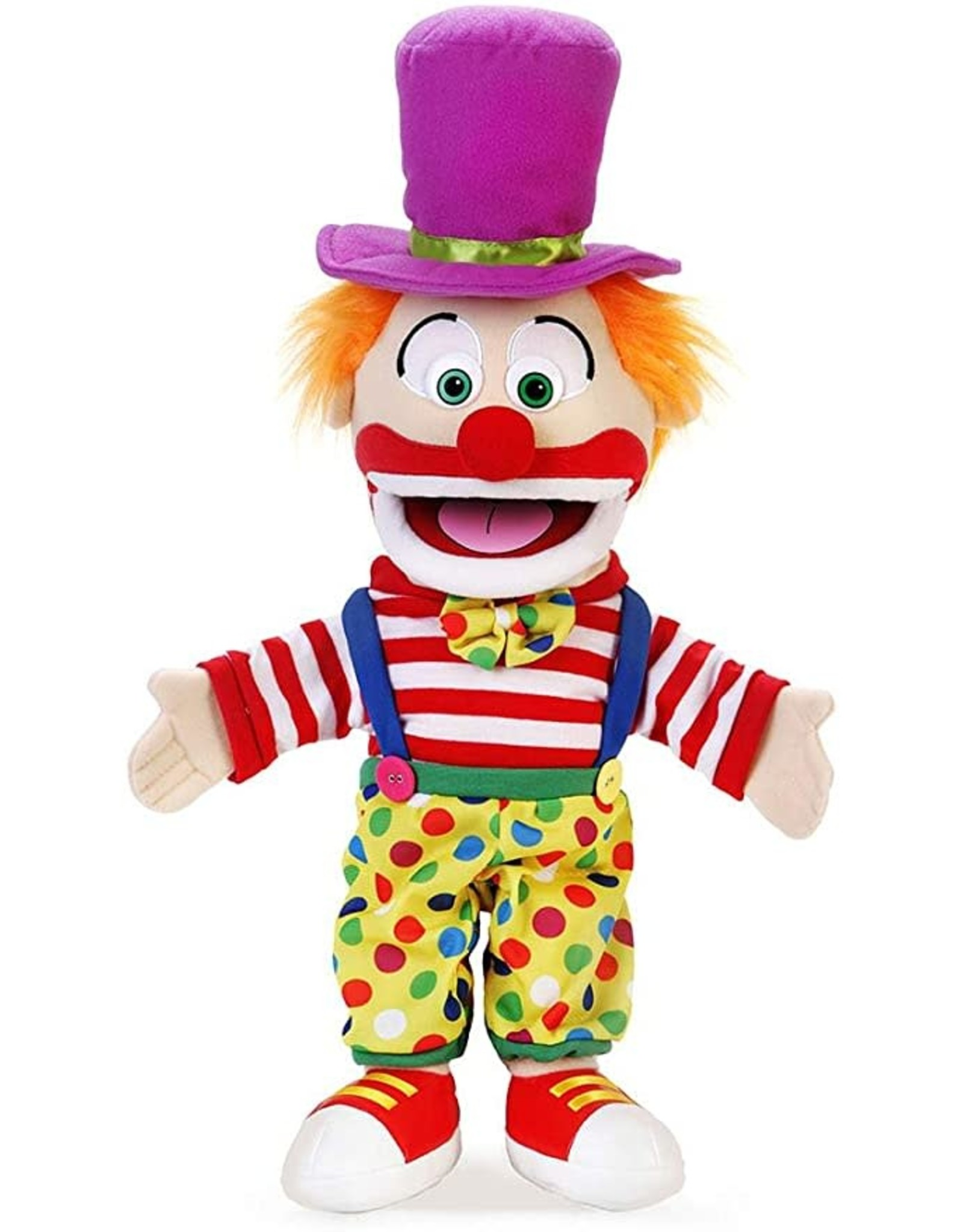 Silly Puppets Clown Puppet 14""