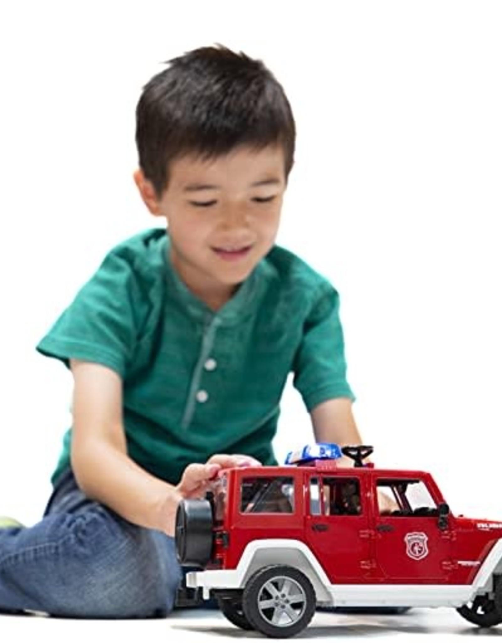 Jeep Rubicon Firetruck w/ Fireman