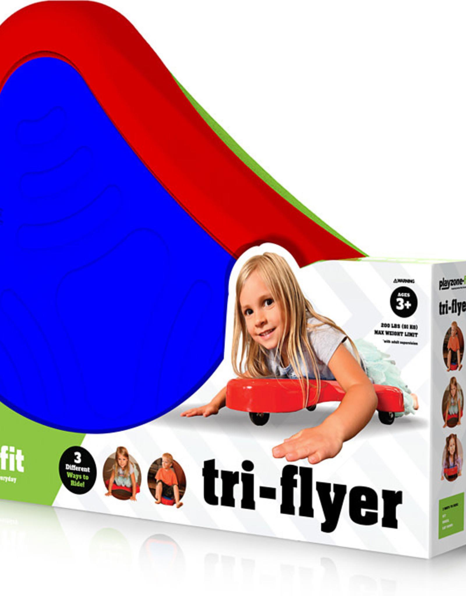 Tri-flyer