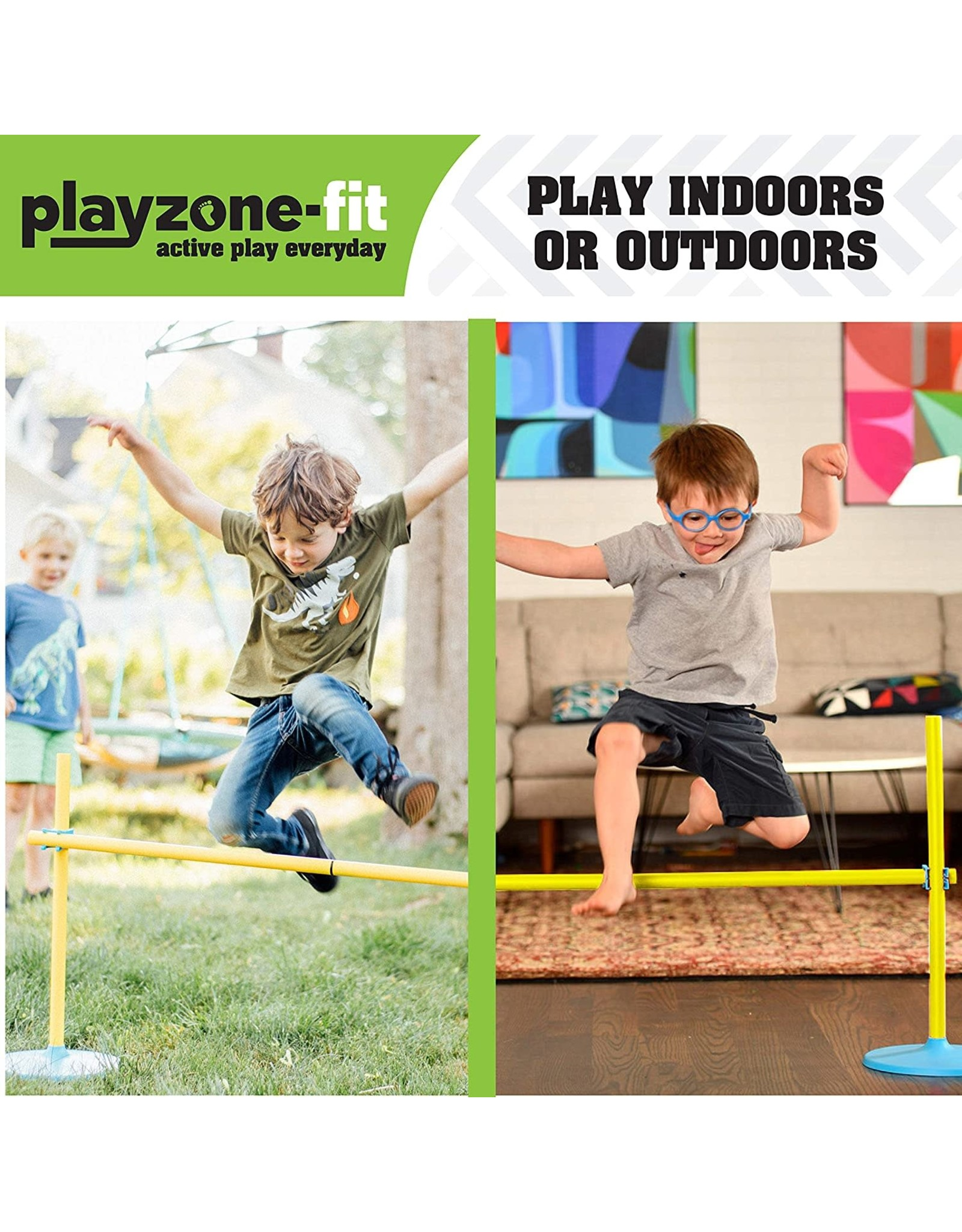 B4 Adventure Playzone Obstacle Race Set