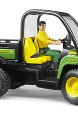 John Deere Gator XUV 855D with driver