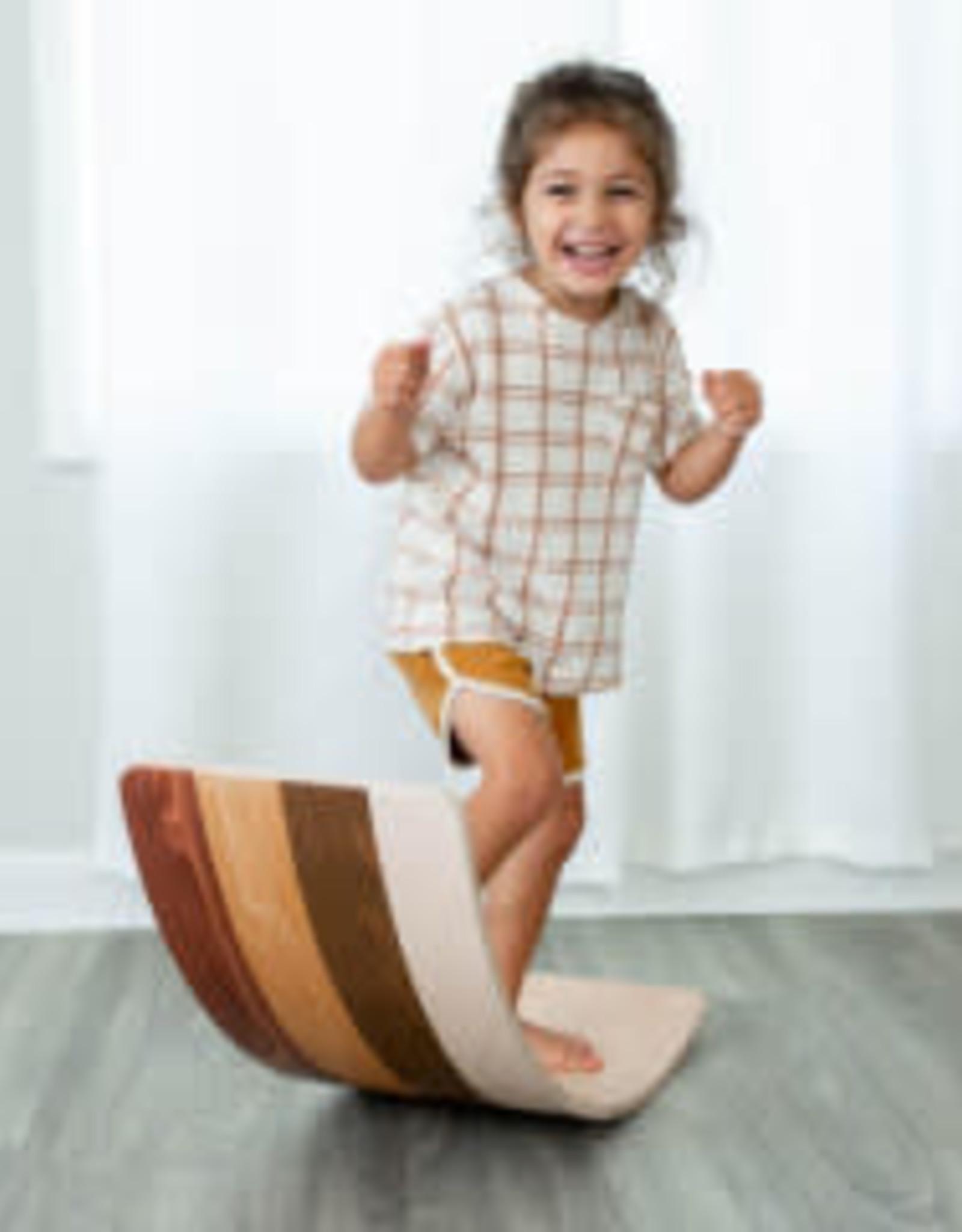 Wobble Board  - Wooden Diversity