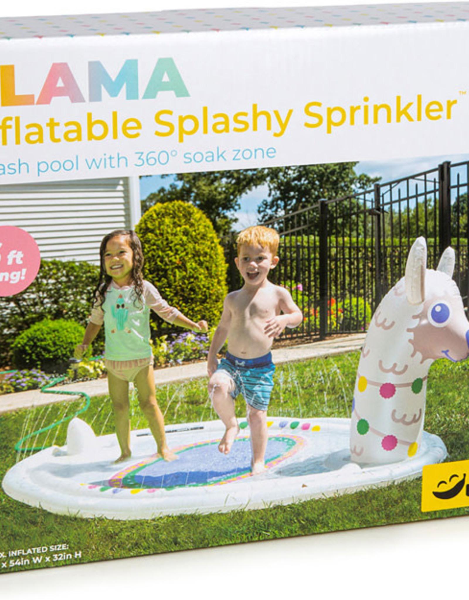 Splashy Sprinklers Llama