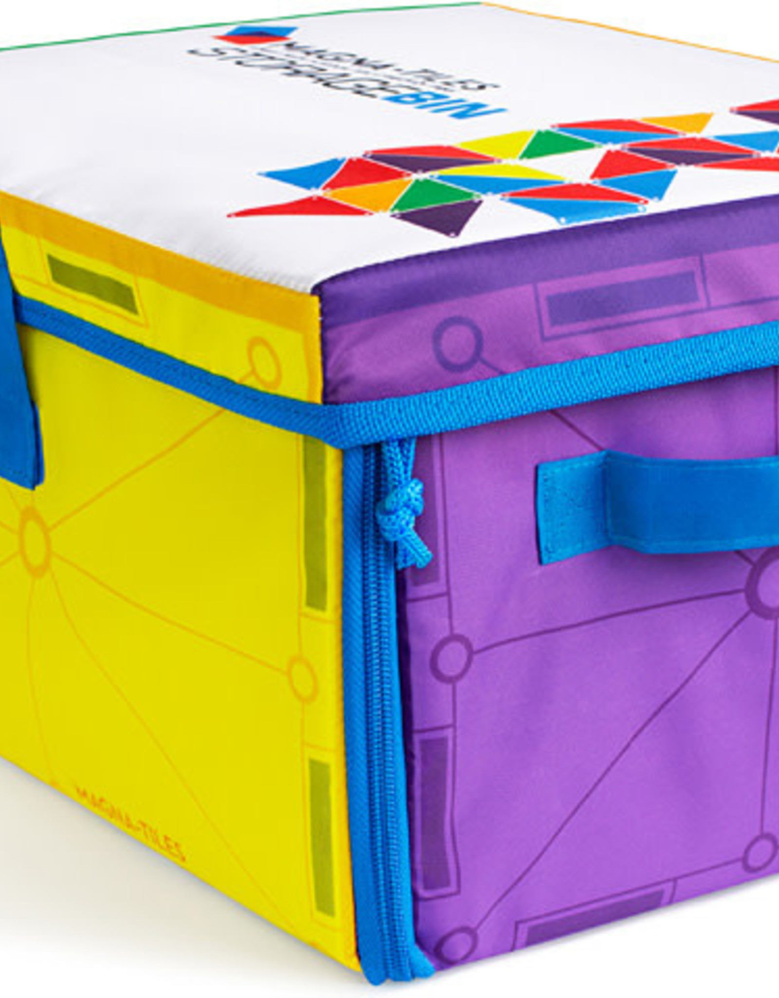 Magna-Tiles Storage Bin and Playmat
