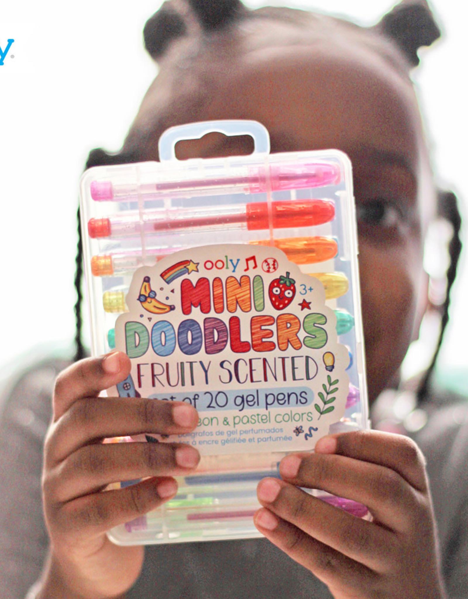 Mini Doodlers Fruity Scented Gel Pens set/20