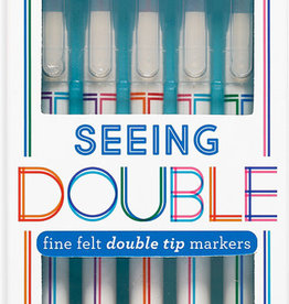 Seeing Double Fine Felt Double Tip Markers set/5
