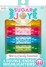 Sugar Joy Scented Double Ended Highlighters set/4