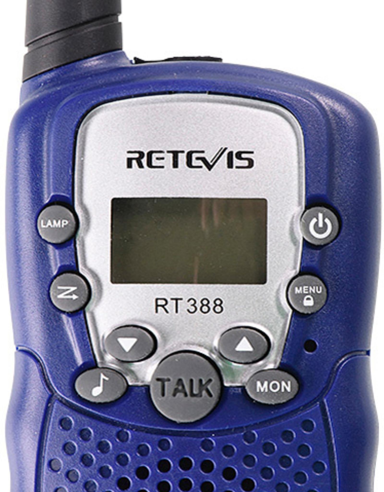 Retevis Walkie Talkies with Flashlight - Dark Blue