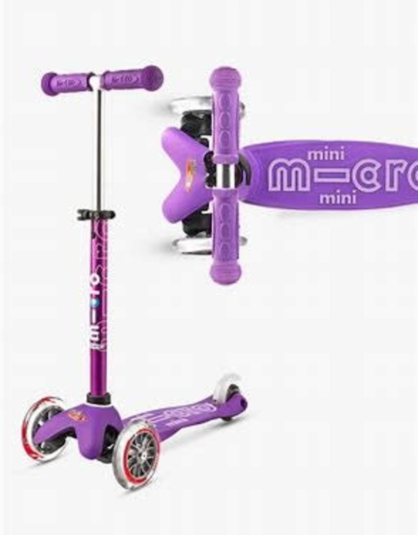 Mini Deluxe Scooter Purple