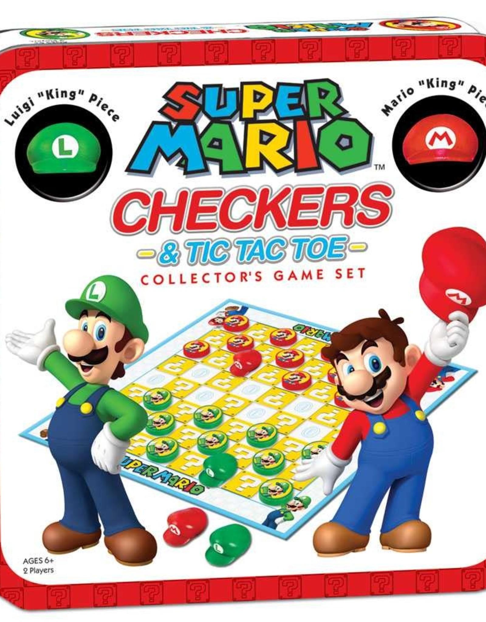 Super Mario Checkers & Tic Tac Toe