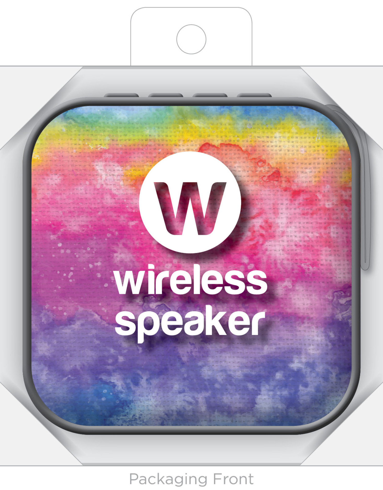Jamm'd Wireless Speaker - Rainbow Tie Dye