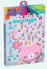 Puffy Stick-On Earrings